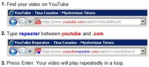 Come mandare in loop un video di Youtube
