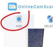 Add Pages, Online Cam Scanner