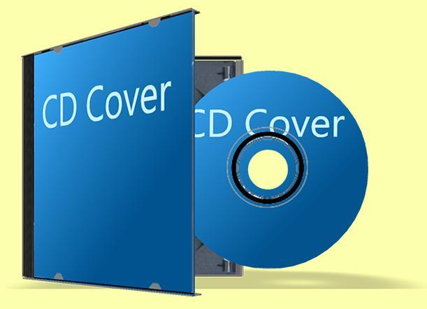 copertina per cd  modello in pdf  con margini e linee di taglio