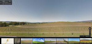 sfondo delle colline di xp viste oggi su google maps