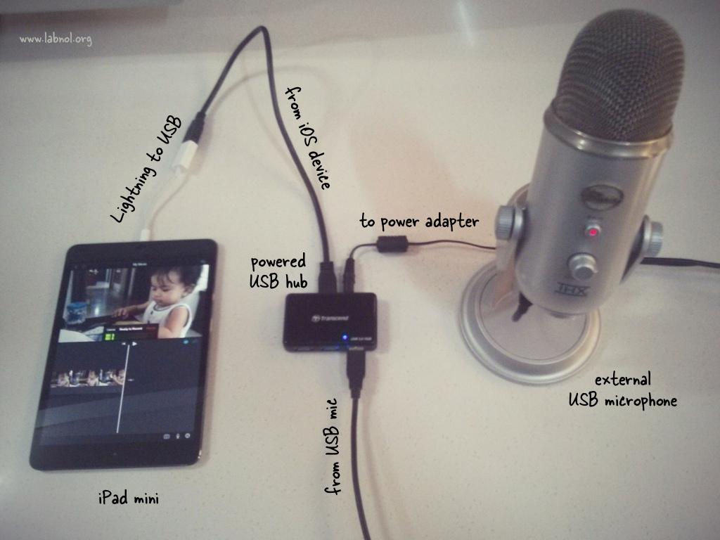 Collegare Un Microfono Esterno Ad Iphone O Ipad