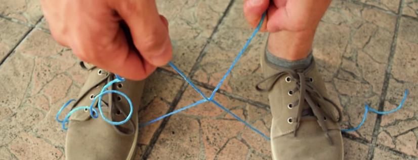 Spezzare una corda senza strumenti utilizzando... la corda stessa
