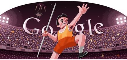 Doodle di Google dedicato alle Olimpiadi