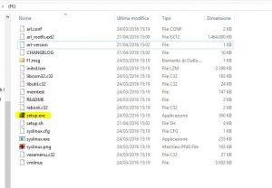 elenco file installazione avg rescue cd