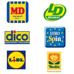 I marchi dei maggiori discount in Italia