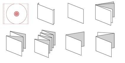 formati template cover cd