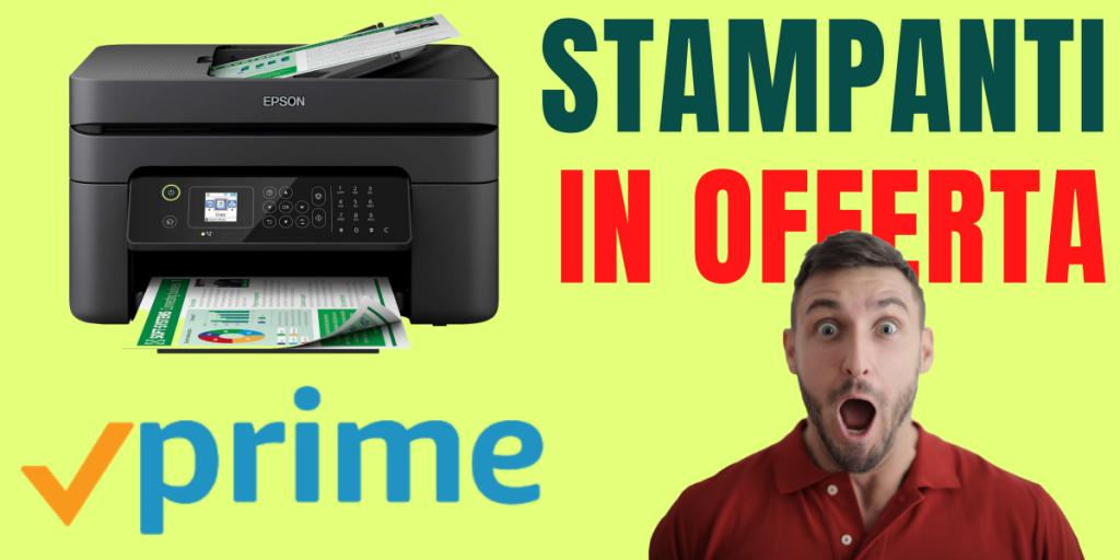 stampanti con adf in offerta su amazon