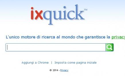 Ixquick, un motore per ricerche anonime