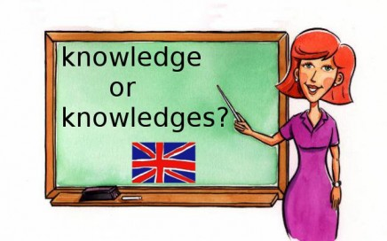 Knowledge or knowledges?
