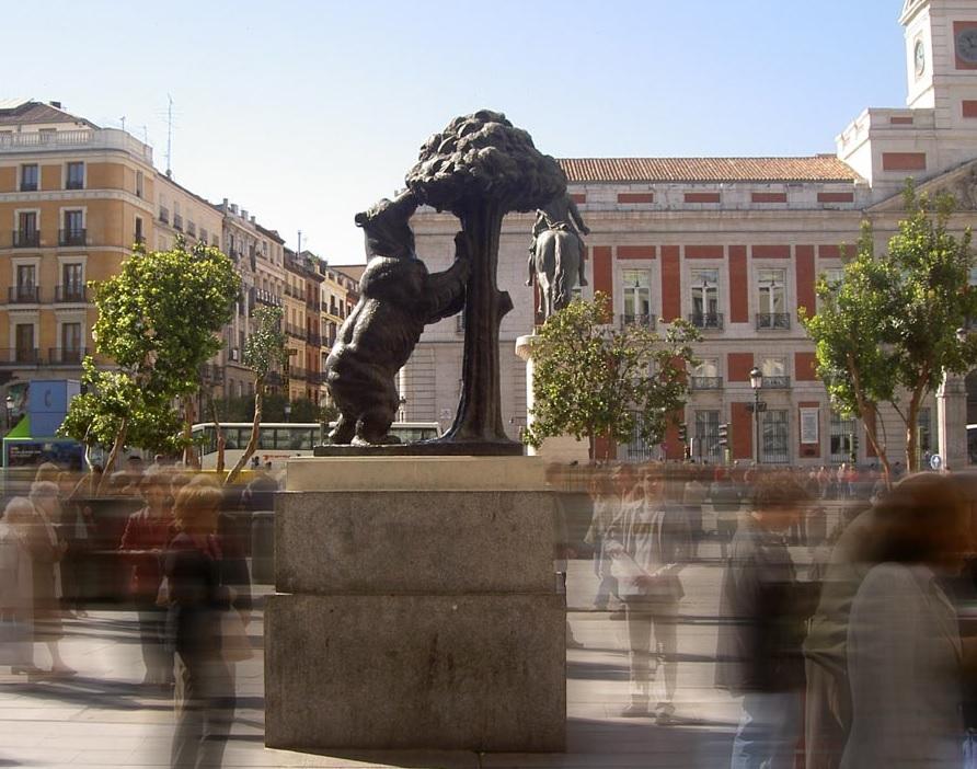 Madrid mappa in pdf ed itinerari consigliati for Plaza de sol madrid