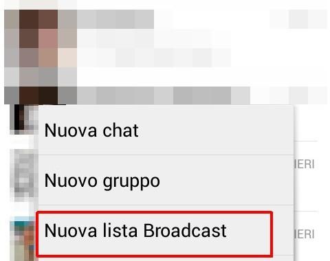 Messaggio broadcast
