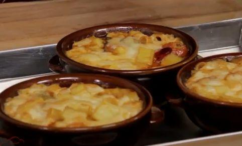 Una buona ricetta della pasta e patate