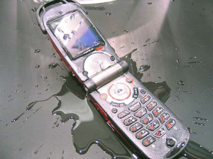 Salvare il cellulare bagnato