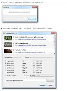 Procedura per scaricare una playlist da Youtube, dal sito ufficiale del programma.