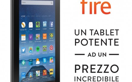 Tablet Amazon Fire a 60 Euro
