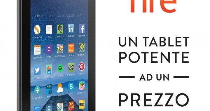 Tablet Amazon Fire a 60 Euro