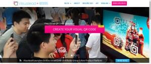 Anche Coca-Cola ha creato QR code grafici fantastici attraverso il servizio di Visualead.